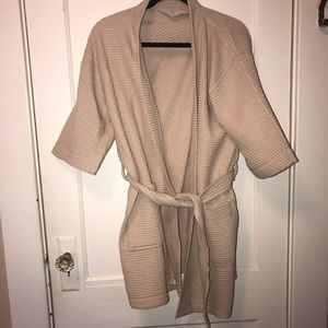 Other - LIGHTWEIGHT TAN ROBE